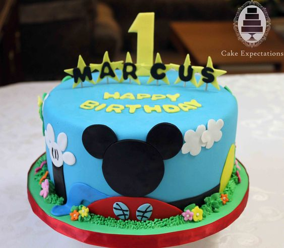 mickey+mouse+1st+bday+cake   mickey mouse clubhouse 1st birthday cake tuesday june 21st 2011