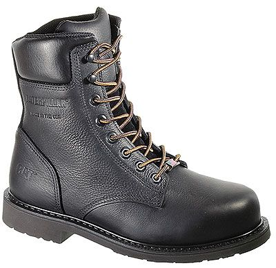Caterpillar P90240 - Mens Liberty Steel Toe Black Work Boot Style ...