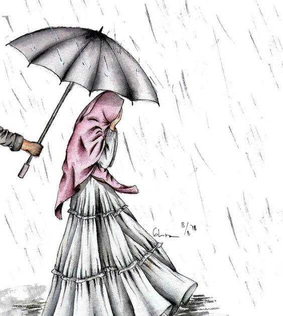 Paling Keren 30 Gambar Kartun Muslimah Berpasangan Romantis Kumpulan Gambar Kartun Muslimah Couple Bercadar Cara Baruq Download Gambar Gambar Kartun Kartun