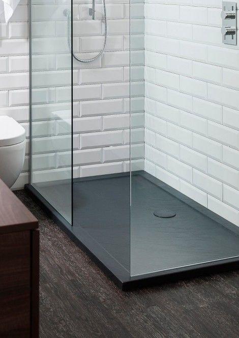35mm Grey Slate Shower Trays in Shower Trays   Crosswater Splendid Bathroom Sale 2015