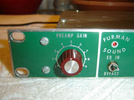 original 1970s Furman green face PQ-3