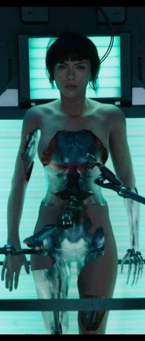 Revelada primera imagen de Scarlett Johansson como Motoko