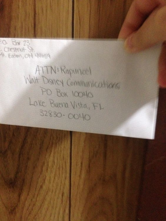 My letter to rapunzel. We shall see if I get a pic in return