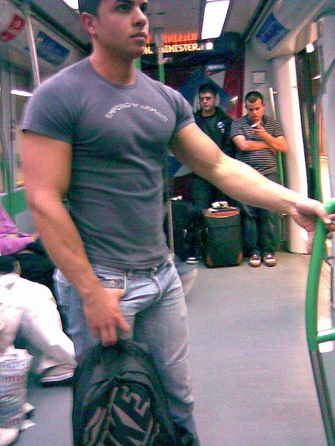 Voyeurs Rejoice! Check Out NYC's Hottest Subway Hunks On Tumblr - January 9, 2014 - The Gaily Grind