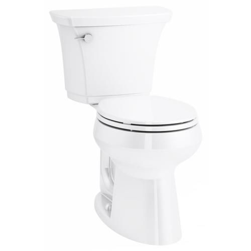 Kohler Highline Curve White Round Comfort Height 2 Piece Toilet 12 In Rough In Size At Lowe S Trusted For Years By Professionals Hig Kohler Toilet Small Bath