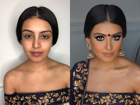Indian Bollywood South Asian Bridal Makeup From Start To
