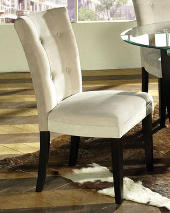 Love these dining room chairs! They would add some glam to the farmhouse table I want to build...