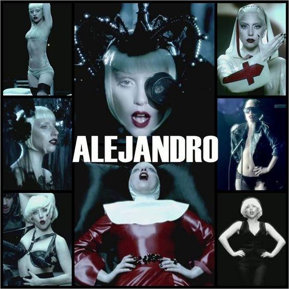 Lady Gaga – Alejandro (single cover art)