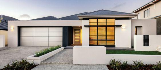 Single Storey Display Homes Perth Apg Homes Modern House Facades Facade House Storey Homes