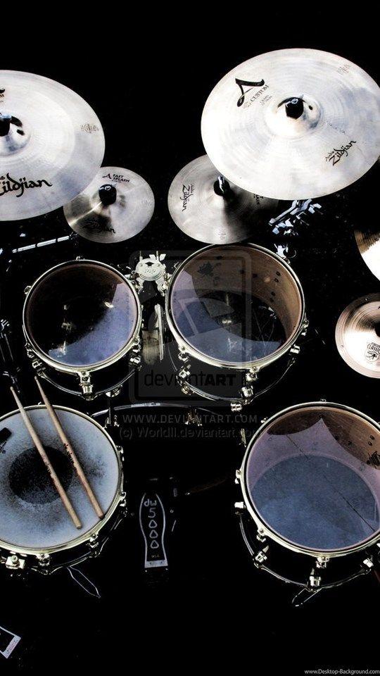 Music Drumsticks Wallpaper