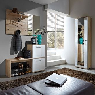 ensemble penderie armoire meuble chaussures banc miroir optimus entr e pinterest. Black Bedroom Furniture Sets. Home Design Ideas