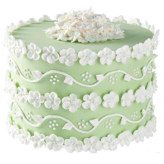 Beautiful Blossoms Cake
