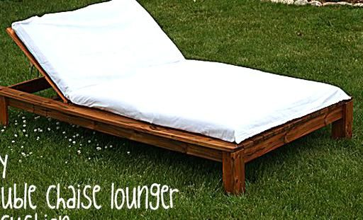 Happy Friday Today Ive Got Some Non Quilting Crafty Stuff For Ya Last Night I Finished In 2020 Double Chaise Lounge Outdoor Lounge Chair Outdoor Outdoor Chaise Lounge