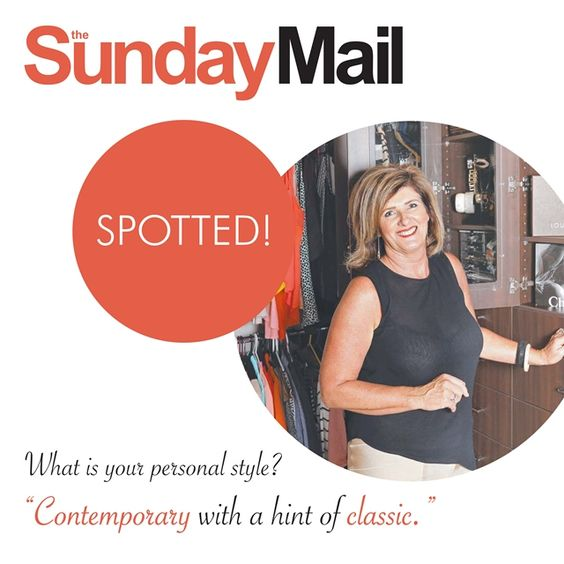Monday with Michelle | SPOTTED! A cheeky little sneak peek inside Michelle's Wardrobe with Sunday Mail!