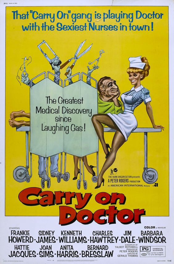 Carry on Doctor (1967) The Carry On films were a memorable part of my childhood, mum was a big fan