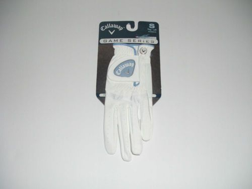 NEW NIP Callaway Women's Golf Gloves Size Small Left White
