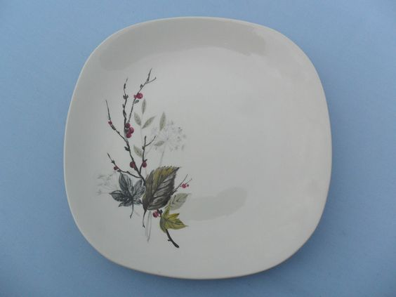 Vintage 50s / 60s  J&G Meakin SOL   Wayfarer    Dinner Plate