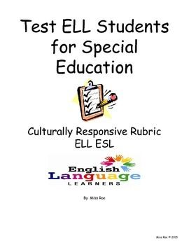 assessment of english language learners Document designed to assist district staff in the development and implementation  of a program of services for ell students.
