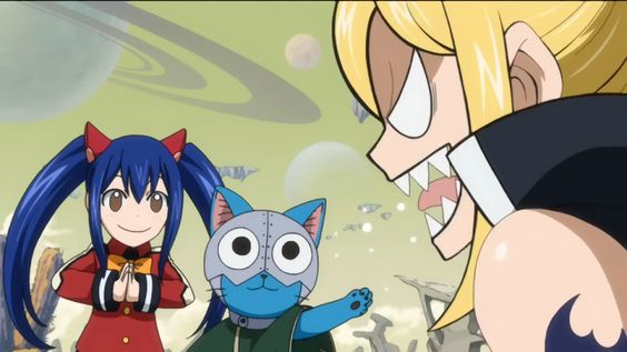 Fairy Tail Lucy Ashley offended