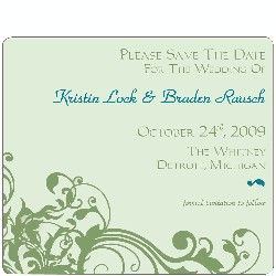 save the date magnet...$0.79...price is right!