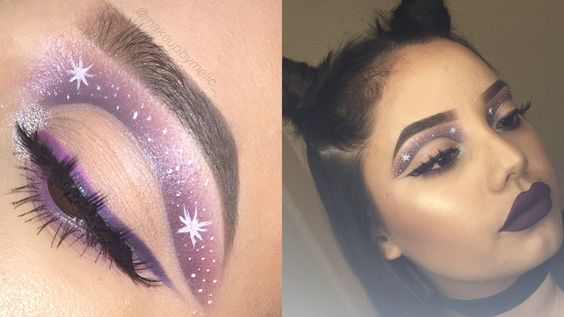 Makeup Geek Eyeshadows in Beaches and Cream, Cupcake, Curfew, White Lies, Fashion Addict and Taboo. Look by: Melissa Cifuentes