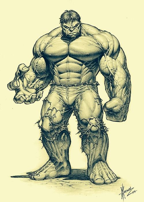 The #Hulk by Dale Keown