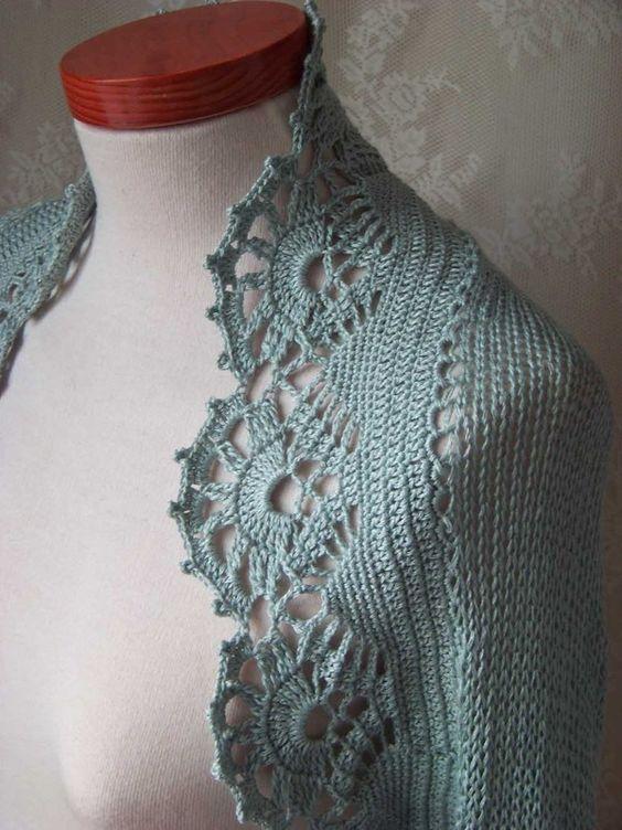 Bolero Knitting Pattern : crochet bolero jacket CROCHET CROCHETED SHRUG - Crochet   Learn How to Croc...