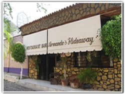 Armando's Hideaway - Mexican cuisine - Privada Ocampo #18 (376) 766-2229  Mon - Sat: 1 p.m.- 9 p.m.  Closed Sundays