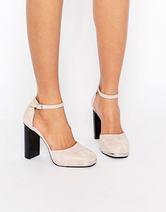 Senso Zac III Blush Suede Heeled Shoes