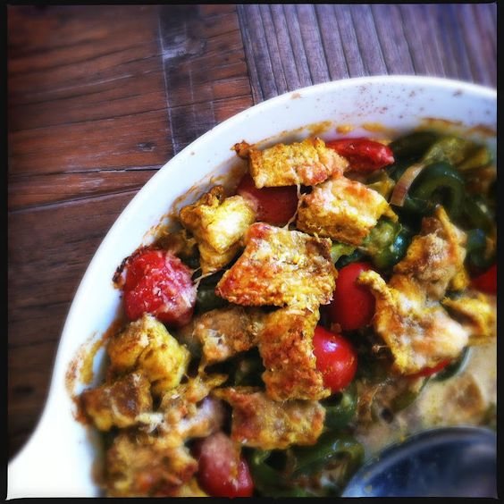 looking good: fish curry casserole