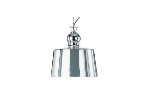 Acquatinta Silver Suspension Lamp,  remodelista.com