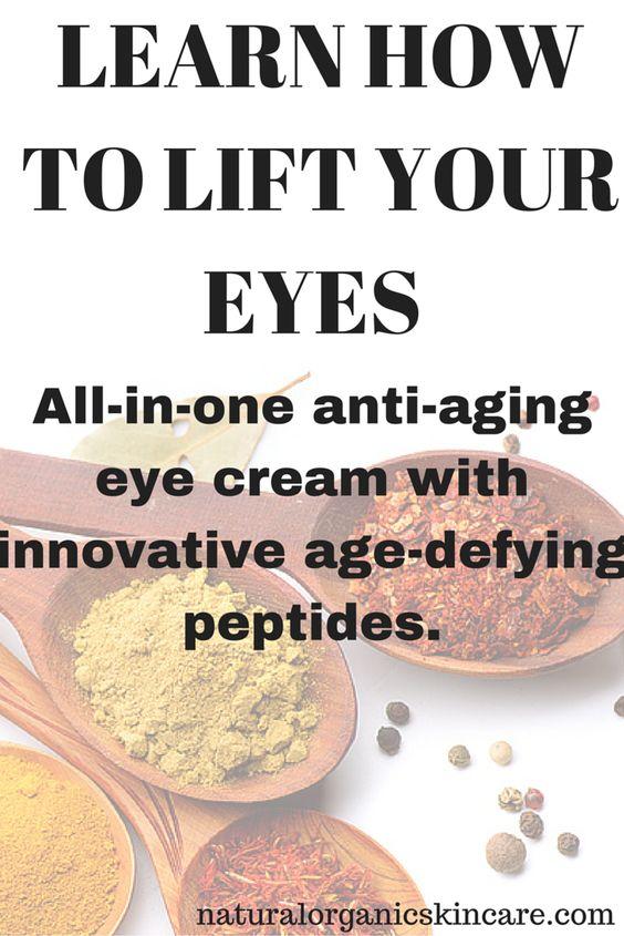 Learn how to lift your eyes easily! www.naturalorganicskincare.com