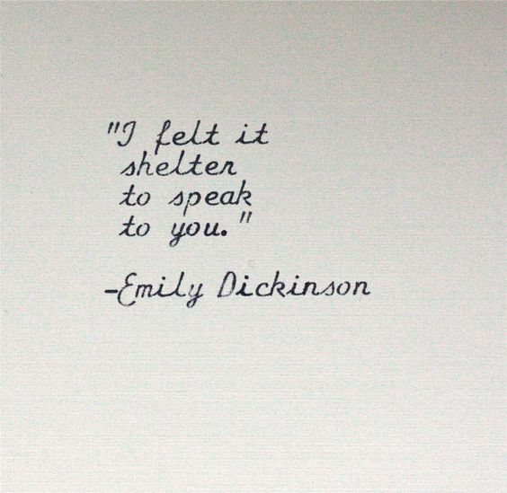 Inspirational Quotes About Failure: To Speak, Emily Dickinson And Shelters On Pinterest