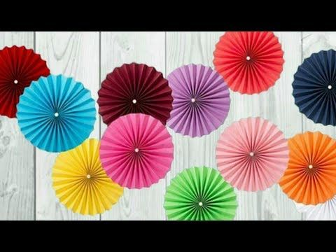 Birthday Decoration Ideas At Home Diy Easy Party Home Decorations Youtube Paper Flower Decor Paper Decorations Lantern Party Decor