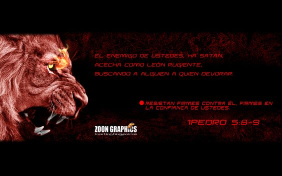 león rugiente