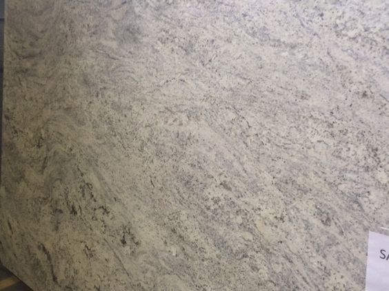 We Have A Winner Salinas White Granite For The Home