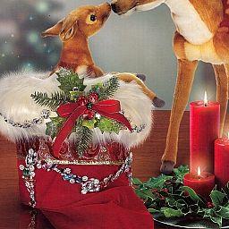 Tremendous Kings Jeweled Sitting Christmas Stocking 51 42680 By Mark Roberts Easy Diy Christmas Decorations Tissureus