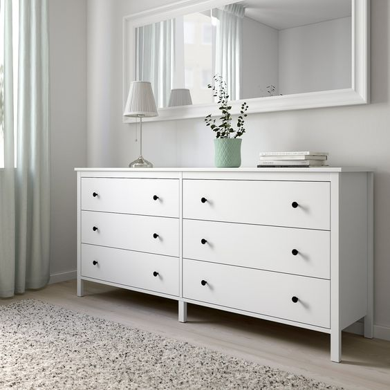 IKEA - KOPPANG 6-drawer dresser white