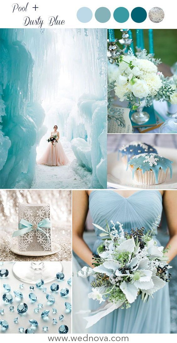 15 Winter Wedding Color Palettes Make You Want To Get Married