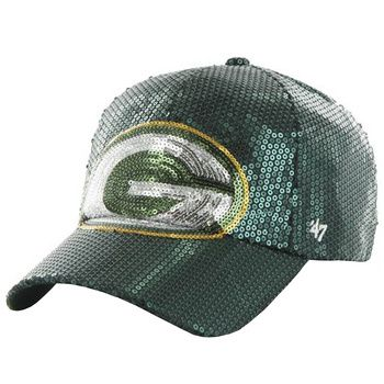 Green Bay Packers Women's Sequin Dazzle Slouch Cap at the Packers Pro Shop http://www.packersproshop.com/sku/8101022020/