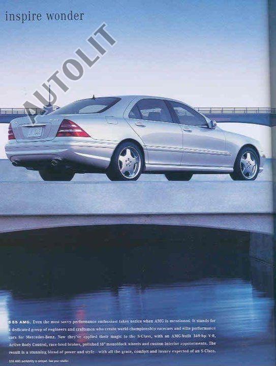 2001 Mercedes Benz S55 Amg W220 Mercedes Mercedes Benz Benz
