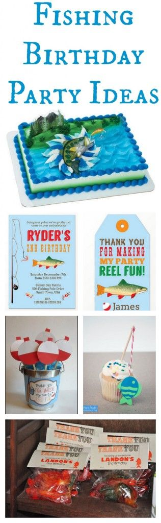 Ideas For A Fishing Birthday Party
