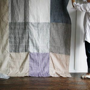 linen patchwork