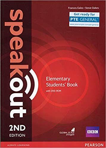 Scaricare Speakout 2nd Edition Elementary Coursebook Per Le Scuole Superiori Con Dvd Rom Pdf Grati Elementary Books Elementary Writing Tasks