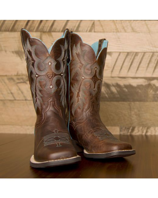 Ariat Women's Tombstone Boot - Sassy Brown http://www ...