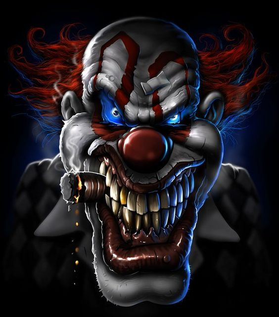 Image result for maniacal clown
