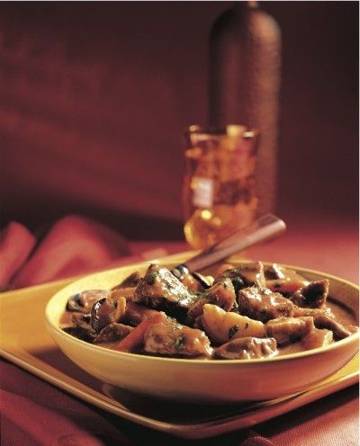 Wild Mushroom Beef Stew    After our recipe for stuffed morels, we thought we'd take a look at this mushroom recipe from earlier in the year. It's hearty and delicious.