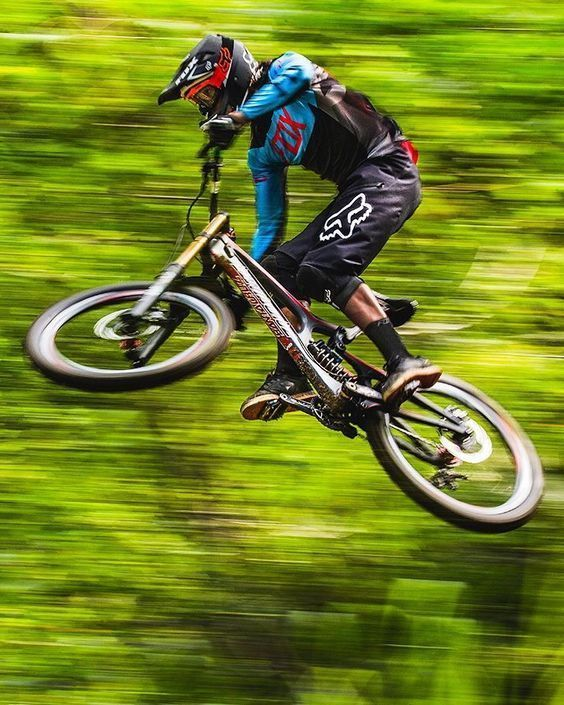 If You Can T Go Around It You Just Fly Over It In 2020 Downhill Bike Downhill Mountain Biking Mountain Biking Photography