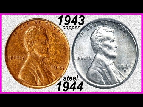 1 700 000 00 Penny Nets 8 Million 1943 Copper 1944 Steel Cents Rare Error Coins Worth Big Money Youtube Coin Worth Error Coins Rare Coins Worth Money