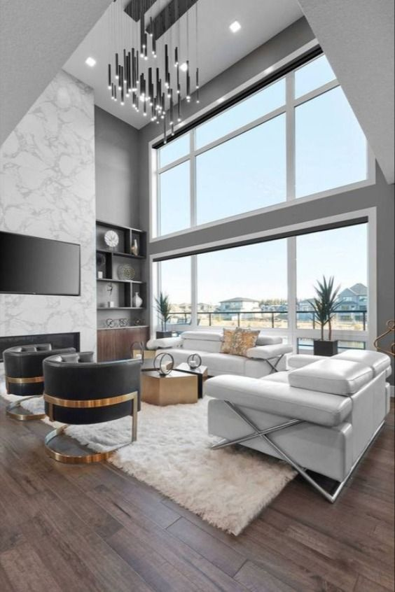 Inspiration To Create A Luxurious Living Room In 2020 Best Modern House Design Modern Houses Interior Living Room Design Modern